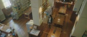 映画「君の膵臓をたべたい」図書館カウンター画像