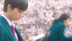 映画「君の膵臓をたべたい」桜良を見ない春樹画像
