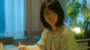映画「君の膵臓をたべたい」病室で驚く桜良画像