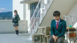 映画「君の膵臓をたべたい」屋上恭子と仲良しくん画像