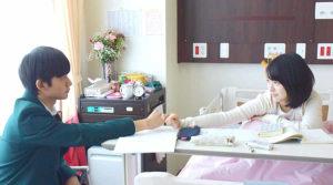 映画「君の膵臓をたべたい」病院約束画像